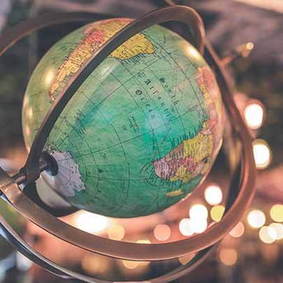 antique and art delivery - globe