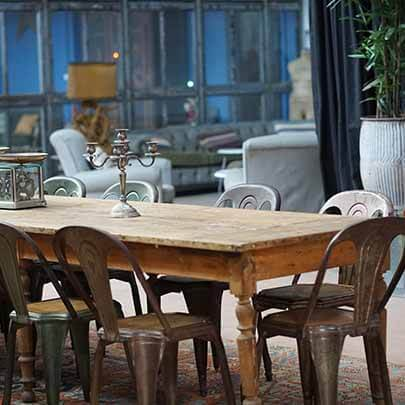Antique and arty delivery image - antique table