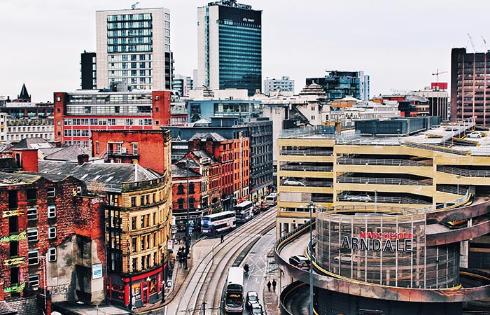 Moving to Manchester from London